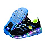 Ufatansy Roller Shoes USB Rechargeable Roller Skate Shoes LED Fashion...