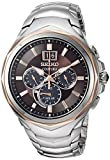 Seiko Men's COUTURA Chronograph Japanese-Quartz Watch with...