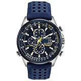 Citizen Eco-Drive World Chronograph A-T Mens Watch, Stainless Steel...