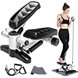 Papepipo Portable Stair Stepper for Exercise - Mini Stepper Fitness...