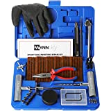 WYNNsky Universal Tire Repair Kit, Plug Flat and Punctured Tires 60...