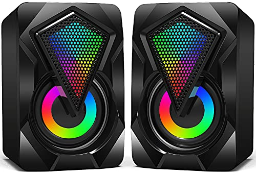 Computer Speakers,Wired 2.0 USB Powered PC Speakers Stereo Mini...