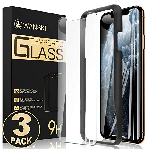 Wanski Screen Protector Compatible for iPhone 11 Pro & iPhone Xs &...