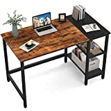CubiCubi Computer Home Office Desk, 40 Inch Small Desk Study Writing...