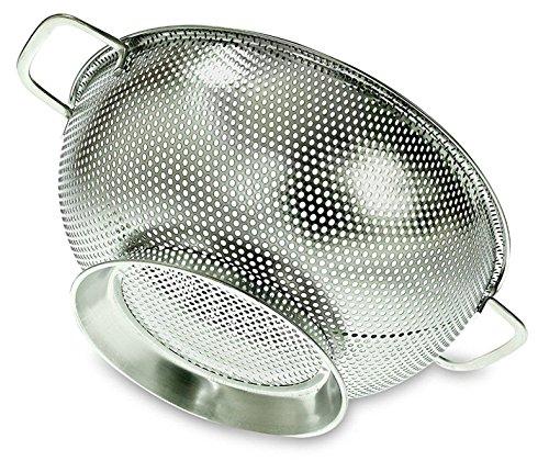 PriorityChef Colander, Stainless Steel Kitchen Strainer For Washing...