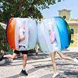 Two Inflatable Bumper Bubble Balls Soccer Ball Dia Giant Human Hamster...