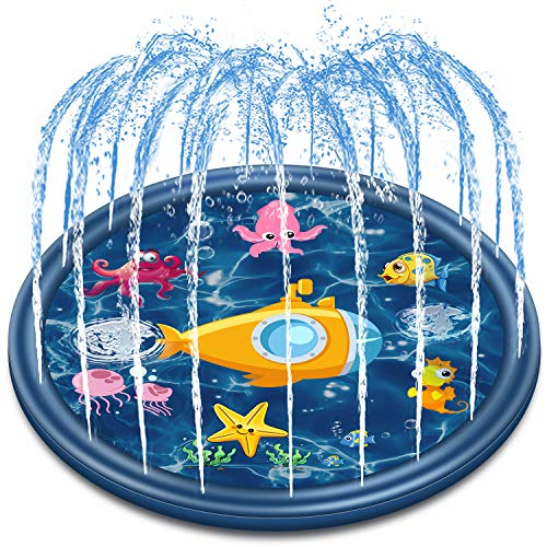 Jozo Outdoor Sprinkler Water Toys for Kids and Toddlers 68', Kids...