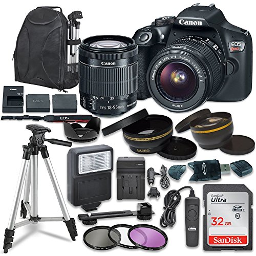 Canon EOS Rebel T6 Digital SLR Camera with Canon EF-S 18-55mm Image...