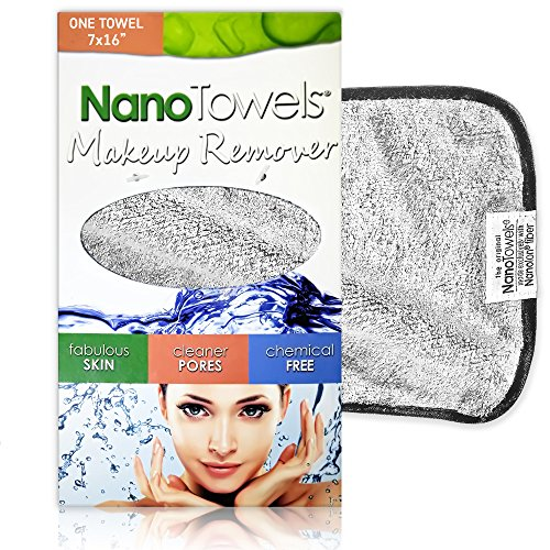 Nano Towel Makeup Remover Face Wash Cloth. Remove Cosmetics FAST and...