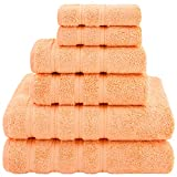 American Soft Linen Towel Set 2 Bath Towels 2 Hand Towels 2 Washcloths...