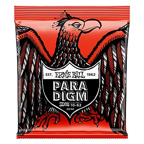 Ernie Ball Skinny Top Heavy Bottom Slinky Paradigm 7-String Electric...