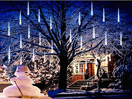 Falling Rain Lights,Anlising Led Meteor Shower Rain Lights 8 Tubes 136...