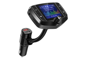 Bluetooth FM Transmitter Audio Adapter Receiver Wireless