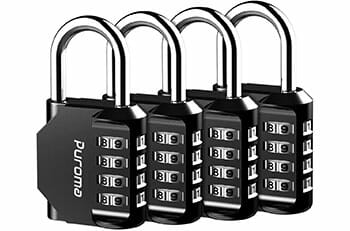 Top 10 Best Combination Lock with Key