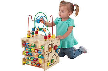Top 10 Best Wooden Activity Box for Kids Reviews