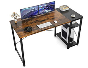 Top 10 Best Computer Desks with Bookshelves