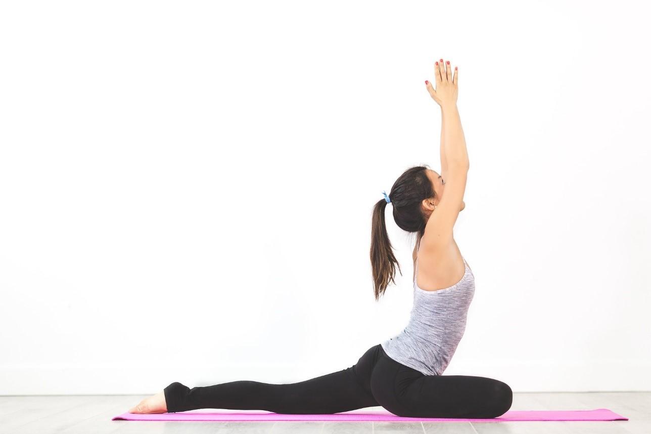 pink yoga mats